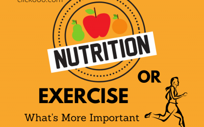NUTRITION OR EXERCISE: WHAT'S MORE IMPORTANT WHEN LOSING WEIGHT?