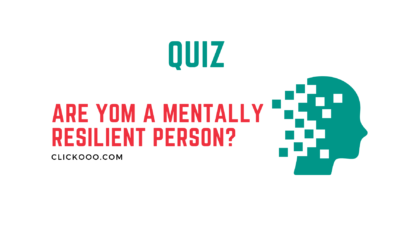 Are you a mentally resilient person?